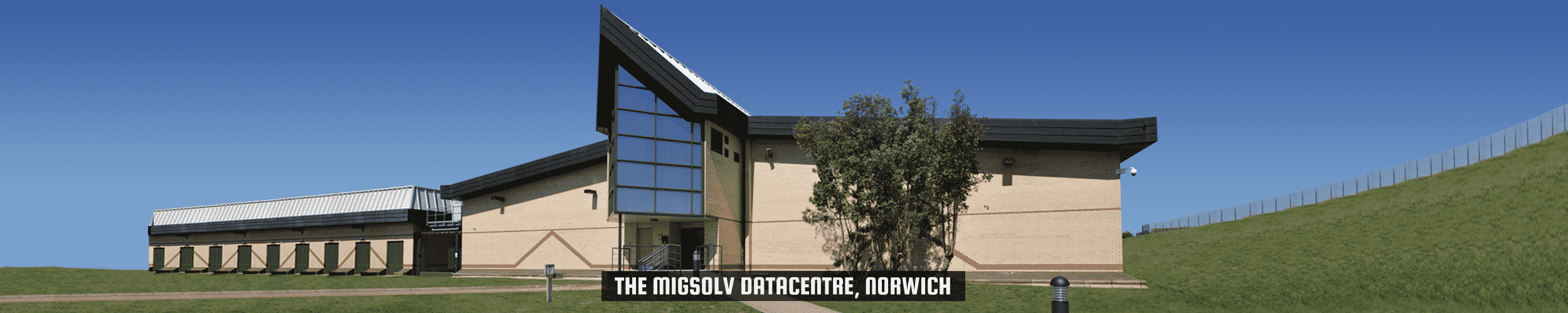 "52Degrees datacenter - functie afbeelding | ""het Migsolv Data Centre, Norwich"" 