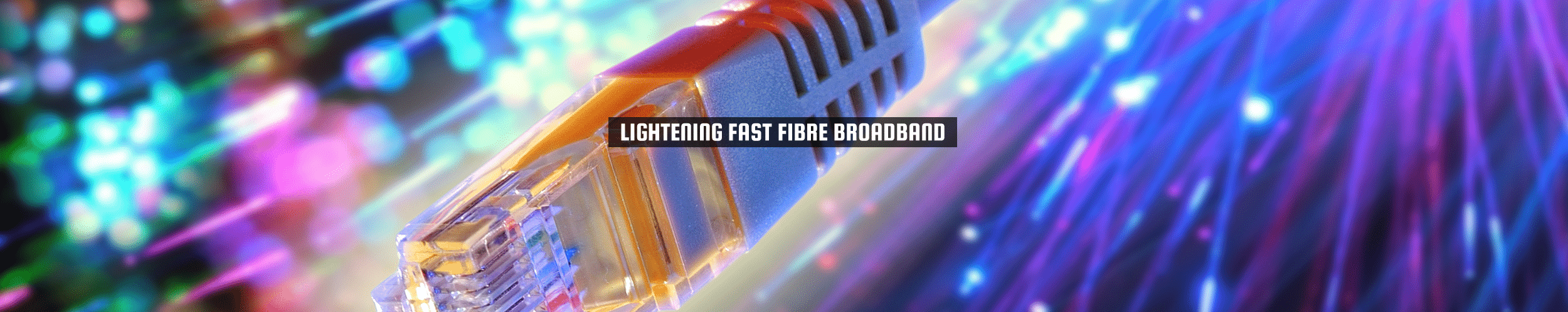 "52Degrees Glasvezelbreedband - functiebeeld | ""lightening fast fibre broadband"" 