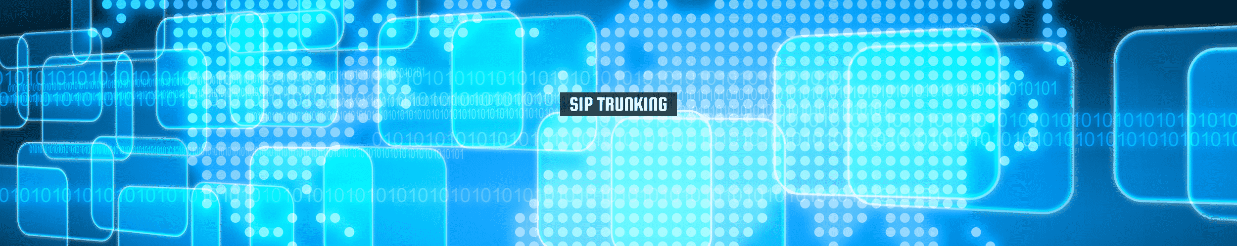 52Degrees SIP Trunking - feature image | blue tech like background with coding | Telecoms Solutions, Norwich