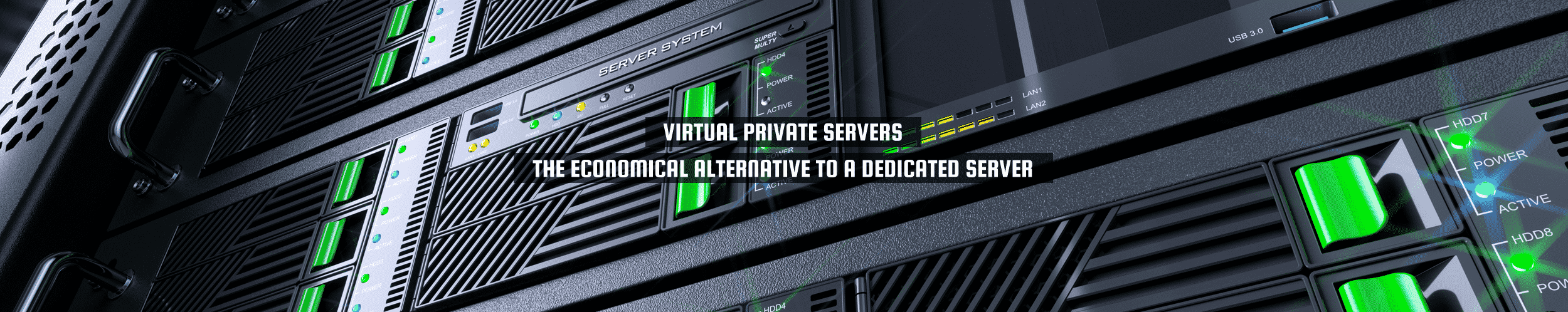 "52Degrees Virtual Hosting - feature image | ""virtuelle private servere - det økonomiske alternativet til en dedikert server"" 