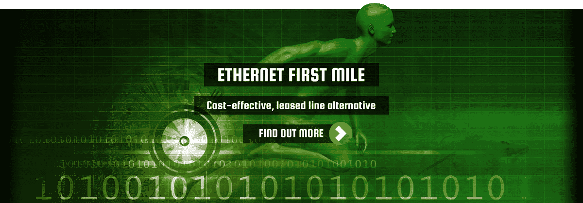 llithrydd ethernet-first-mile